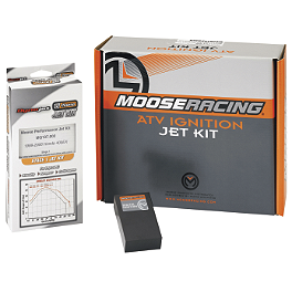 Moose Jet Kit/Ignition Module - 2013 Honda TRX450R (ELECTRIC START) Moose Pre-Oiled Air Filter