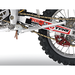 Moose Bolt-On Kick Stand - 2012 Kawasaki KX450F Baja Designs Enduro Light Kit Option 2 - Red