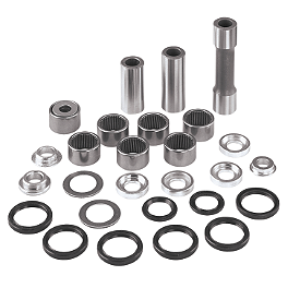 Moose Linkage Bearing Kit - 2013 Honda TRX400X Moose Shock Bearing Kit Lower