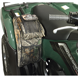 NRA By Moose Legacy Fender Bag - A.T.V. Tank Saddle Bag - Mossy Oak
