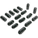 Moose Lug Nut Set - Black - Dirt Bike Wheel Hardware