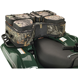 NRA By Moose Legacy Rear Rack Bag - Moose Bighorn Rear Rack Bag - Black