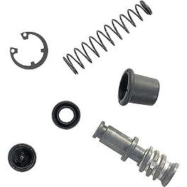 Moose Master Cylinder Repair Kit - Rear - 2004 Kawasaki KX85 Fasst Company Rear Brake Return Spring - Black
