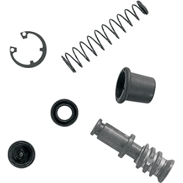 Moose Master Cylinder Repair Kit - Front - 2004 Kawasaki BAYOU 300 2X4 Moose 393X Front Wheel - 12X7 4B+3N Black