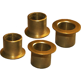 Moose Manual Lift Bushings - 2007 Honda RINCON 680 4X4 Moose 387X Rear Wheel - 12X8 4B+4N Black