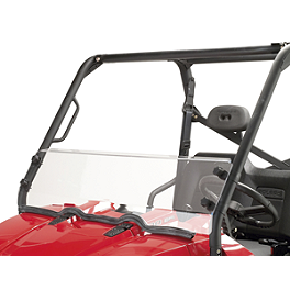 Moose Multi Windshield - 2011 Polaris RANGER 400 4X4 Moose Dynojet Jet Kit - Stage 1