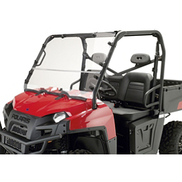 Moose Multi Windshield - 2012 Polaris RANGER 800 HD 4X4 Moose 393X Center Cap