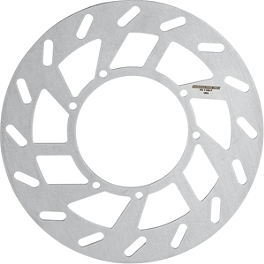 Moose OEM Replacement Rear Brake Rotor - 2009 Can-Am RENEGADE 800R X Moose 393X Front Wheel - 12X7 4B+3N Black