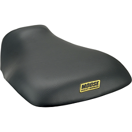 Moose OEM Replacement Seat Cover - 2005 Kawasaki BRUTE FORCE 750 4X4i (IRS) Quad Works Gripper Seat Cover - Black