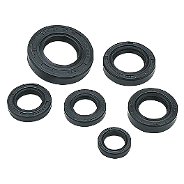 Moose Oil Seal Set - 2003 Honda TRX400EX Moose Handguards - Black