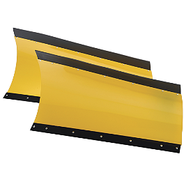 Moose County Plow Blade - 2012 Honda RANCHER 420 4X4 AT Moose CV Boot Guards - Front