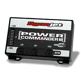 Moose Dynojet Power Commander 3 USB - 2006 Honda RINCON 680 4X4 Moose 393X Center Cap