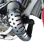 Moose 2-Stroke Pipe Guard - Kawasaki KX125 Dirt Bike Exhaust