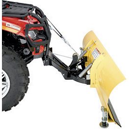 Moose Pulley Kit For Moose Plow Systems - 2013 Honda TRX250 RECON Moose 393X Front Wheel - 12X7 4B+3N Black