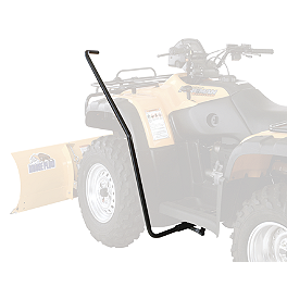 Moose Hand Plow Lift - 2004 Yamaha WOLVERINE 350 Moose 393X Front Wheel - 12X7 4B+3N Black