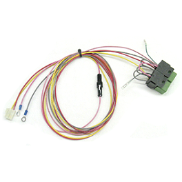 Moose Electric Plow Lift Replacement Relay With Wiring - 2008 Yamaha WOLVERINE 450 Moose 393X Front Wheel - 12X7 4B+3N Black