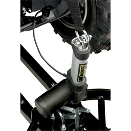 Moose Plow Lift Actuator - 2012 Polaris SPORTSMAN 500 H.O. 4X4 Moose 393X Front Wheel - 12X7 4B+3N Black