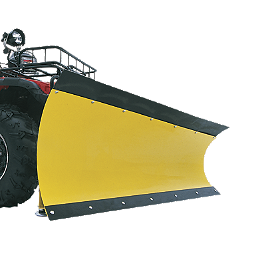 Moose County Plow Complete Kit - 2013 Suzuki KING QUAD 750AXi 4X4 POWER STEERING Moose Plow Push Tube Bottom Mount