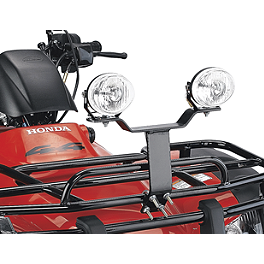 Moose Plow Light Mount Kit - 2000 Kawasaki BAYOU 300 2X4 Moose 393X Front Wheel - 12X7 4B+3N Black