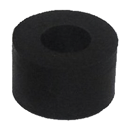 Moose Replacement Plow Rubber Washer Skids - 8 Pack - 2001 Yamaha WOLVERINE 350 Moose 393X Front Wheel - 12X7 4B+3N Black