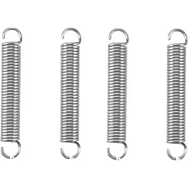 Moose Replacement Blade Position Pin Springs - 4 Pack - 1999 Honda TRX450 FOREMAN 4X4 Moose Full Chassis Skid Plate
