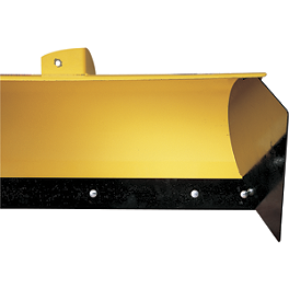 Moose Plow Side Shield - 2010 Kawasaki PRAIRIE 360 4X4 Moose Plow Push Tube Bottom Mount
