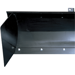 Moose Side Shield For Cycle Country Plows - 2008 Kawasaki MULE 3010 TRANS 4X4 DIESEL Moose Plow Push Tube Bottom Mount