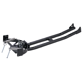Moose Plow Extended Lift Push Tube - 2012 Yamaha GRIZZLY 550 4X4 POWER STEERING Moose 387X Rear Wheel - 12X8 4B+4N Black