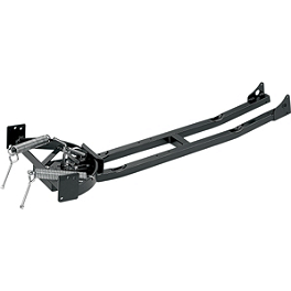 Moose Plow Push Tube - 2000 Kawasaki PRAIRIE 400 2X4 Moose 393X Front Wheel - 12X7 4B+3N Black