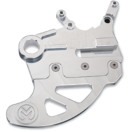 Moose Pro Shark Fin With Brake Carrier - 2007 Honda CRF450R Pro Moto Billet Sharkfin Rear Disc Guard