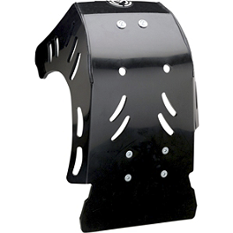 Moose Pro Skid Plate - 2007 Yamaha YZ250 Moose 2-Stroke Pipe Guard