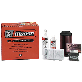 Moose K&N / Dynojet Power Kit - 2007 Honda TRX500 RUBICON 4X4 Moose 387X Rear Wheel - 12X8 2B+6N Black