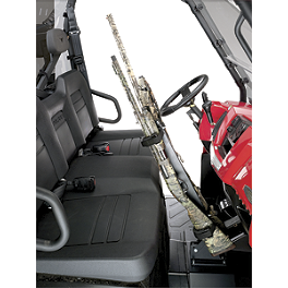NRA By Moose UTV Quick Draw Combo - Great Day Quick Draw Overhead Gun Rack
