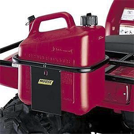 Moose 2 Gallon Gas Can Carrier - 2010 Honda RANCHER 420 4X4 AT Moose Utility Front Bumper