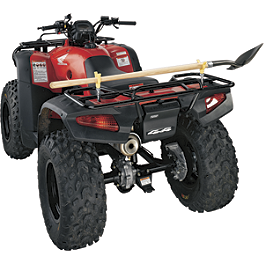 Moose Horizontal Tool Holder - 2013 Suzuki KING QUAD 400ASi 4X4 AUTO Moose 393X Front Wheel - 12X7 4B+3N Black