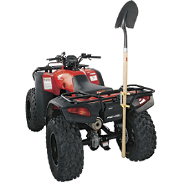 Moose Vertical Tool Holder - 2010 Suzuki KING QUAD 750AXi 4X4 POWER STEERING Moose 387X Rear Wheel - 12X8 4B+4N Black