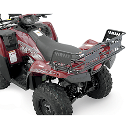Moose Rack Extension - Rear - 2002 Yamaha KODIAK 400 4X4 Moose 387X Rear Wheel - 12X8 2B+6N Black