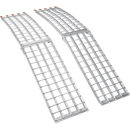 Moose Folding Aluminum UTV Ramps - Moose Arched Folding Aluminum Ramps