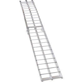 Moose Arched Aluminum Folding Ramp - Moose Straight Aluminum Folding Ramp - 9'