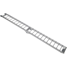 Moose Straight Aluminum Folding Ramp - 7' - Moose Arched Aluminum Folding Ramp