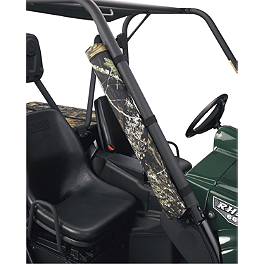 Moose UTV Roll Bar 6-Pack Cooler - Moose Big Horn Single Gun Rack
