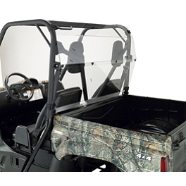 Moose Rear Back Panels - 2006 Yamaha RHINO 450 Moose Multi Windshield