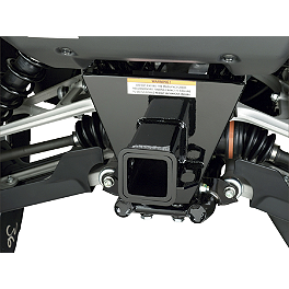 "Moose Receiver Hitch - 2"" - 2013 Honda TRX500 FOREMAN 4X4 POWER STEERING Moose 393X Front Wheel - 12X7 4B+3N Black"