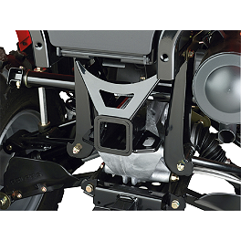 "Moose Receiver Hitch - 2"" - 2008 Polaris SPORTSMAN 300 4X4 Moose Plow Push Tube Bottom Mount"