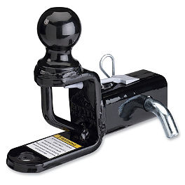 "Moose Trio HD Hitch With Ball Mount - 2"" - 2014 Can-Am COMMANDER 1000 DPS Moose 393X Center Cap"