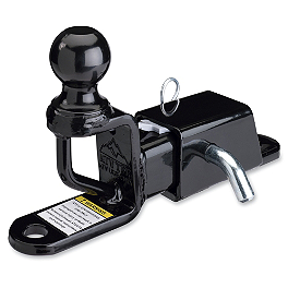 Moose Trio HD Receiver Hitch With Ball Mount - Moose Trio HD Multi-Purpose Hitch With Ball Mount