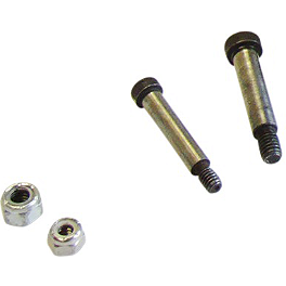 Moose RM4 Hitch Pins - 1998 Honda TRX450 FOREMAN 4X4 ES Moose 387X Rear Wheel - 12X8 2B+6N Black