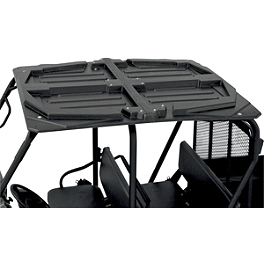 Moose 2-Piece UTV Roof - 2012 Polaris RANGER CREW 800 4X4 Moose 387X Center Cap