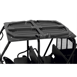 Moose 2-Piece UTV Roof - 2009 Polaris RANGER CREW 700 4X4 Moose CV Boot Guards - Front