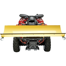 Moose RM4 Plow Frame - 2008 Can-Am OUTLANDER MAX 400 XT Moose 387X Rear Wheel - 12X8 4B+4N Black